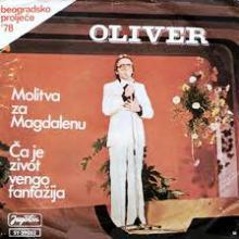 Oliver Dragojevic – Molitva za Magdalenu