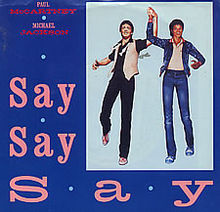 Paul McCartney and Michael Jackson – Say Say Say