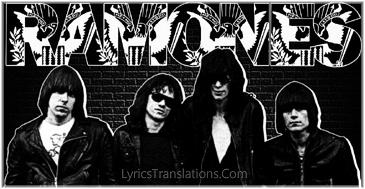 Alright Ramones Be Lyrics It's Gonna N8OkwPnX0Z