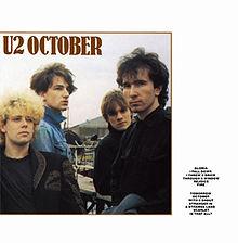 Album_U2 - October