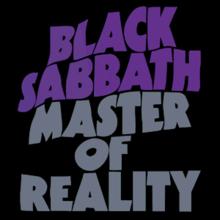 Album_Black Sabbath - Master of Reality