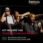 Eurovision 2008 Macedonia: Tamara Todevska (feat. Vrčak and Adrian Gaxha) – Tebe volim
