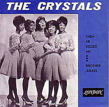 The Crystals - Then He Kissed Me