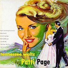 Album_Patti Page - Tennessee Waltz
