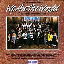 Album_USA for Africa - We Are The World